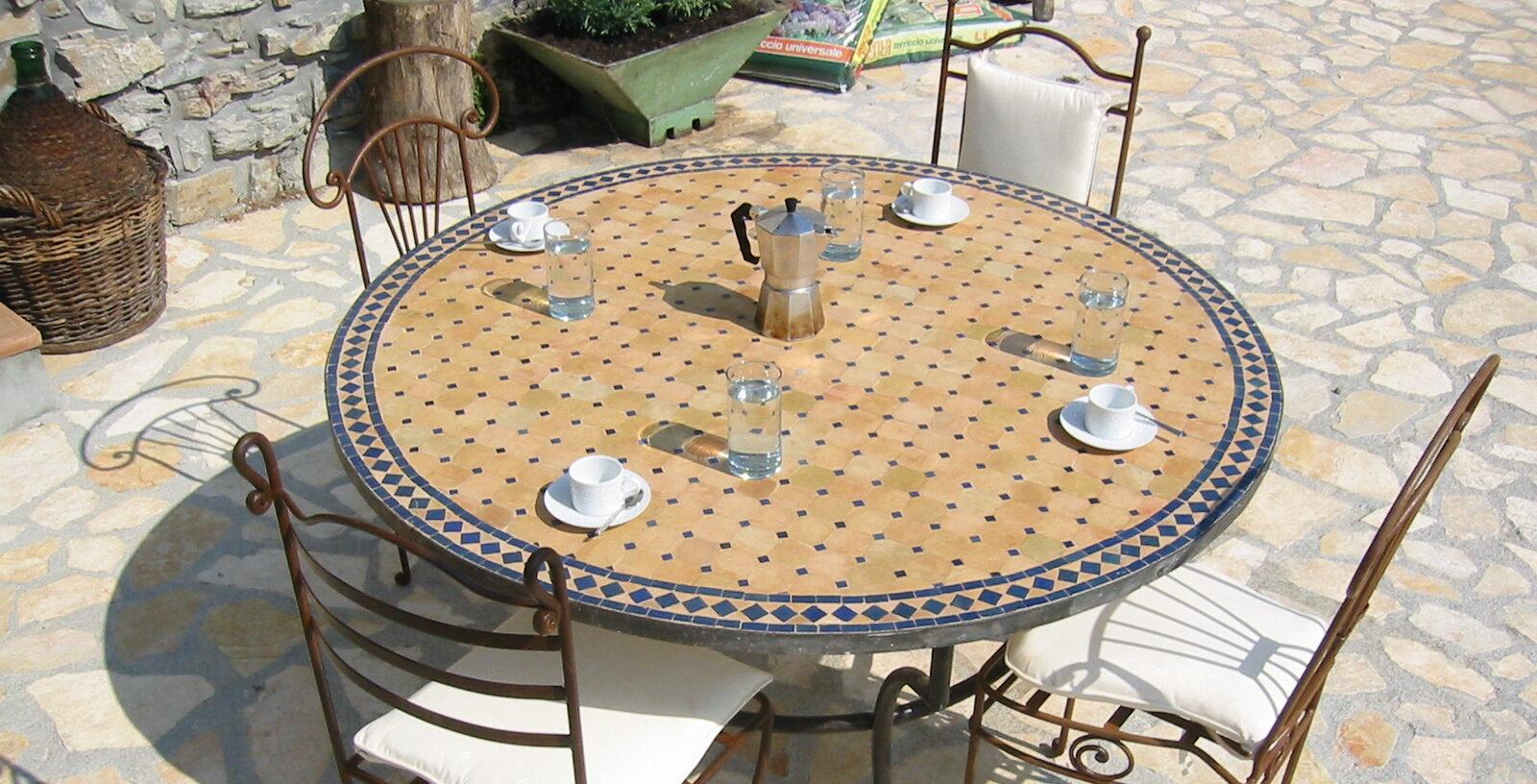 Tavole Calde Ltd. - Mediterranean Mosaic Tables